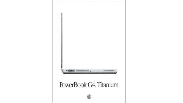 PowerBook G4. Titanium