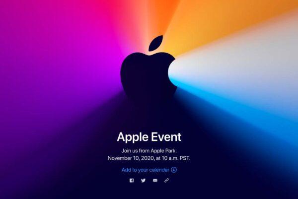 今夜Apple Silicon Mac登場となるか